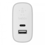 Belkin Home Charger (27W) Power Delivery Port USB-C 3.0A, silver