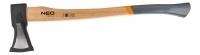 Topex 27-019 Сокира 2000 г, дерев'яна рукоятка