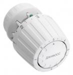 Danfoss Термоголовка 2991, різьблення підключення RA, регулювання +5 до +26°C (біла)