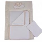 Veres Пеленальний матрац «Sleepyhead beig», 50 х 70 см