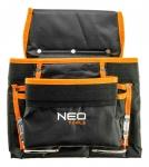 Neo Tools 84-334 Карман для інструменту, 8 гнізд, металеві петлі