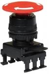 ETI НН55С1 отключение поворотом (40 мм, красный)
