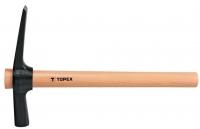 Topex 02A675 Молоток-Кирочка 700 г, рукоятка дерев'яна