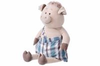 Same Toy Свинка в комбінезоні (60 см)