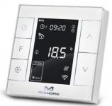 MCO Home Розумний термостат для керування електричною теплою підлогою, Z-Wave, 230V АС, 16А, білий