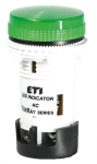 ETI TT02X1 240V AC (зеленая) 54мм