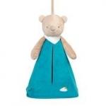 Nattou М'яка іграшка Сумка для підгузників Ведмедик Базиль