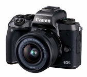 Canon EOS M5 15-45 IS STM Kit Black