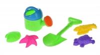 Same Toy Набір для гри з піском із лійкою (6 шт.)