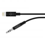 Belkin 3.5 mm Audio Cable to Lightning MFI, 0.9m, Black