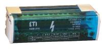 ETI EDB-211 2p, L+PE/N, 125A (11 выходов)