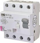 ETI Реле дифференциальное (УЗО) EFI-4 [EFI-4 25/0,1 тип AC (10kA)]