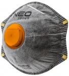 Neo Tools 97-301 Пылезащитная полумаска с активированным углем FFP2, с клапаном, 3 шт.