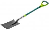 Verto Лопата прямая, металлическая ручка