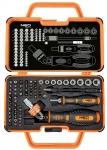 Neo Tools 06-116 Набор бит с держателем,, 69 ед.