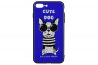 WK WPC-087 для iPhone 7/8 Plus [Cute Dog Blue (681920360834)]