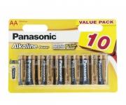 Panasonic ALKALINE POWER AA BLI 10