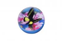 goki М'ячик-стрибунець Метелик чорно-жовтий