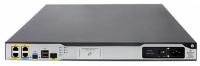 HP MSR3012 2xGE, 1xGE-T/SFP, 2 SIC, 1 HMIM, 1 VPM slots, 1U rack, 1-year warranty