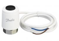 Danfoss Термоэлектрический привод TWA-K NO 24V, M30 x 1.5, длина кабеля 1.2м