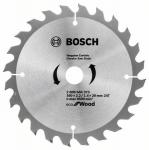 Bosch Круг пильний ECO WO 160x20 / 16-24T