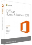 Microsoft Office Home and Business 2016 [Office Home and Business 2016 32/64 English DVD P2]