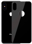 Baseus для iPhone XS 0.3mm Full rear protector, Black