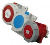 ETI Розетка встраиваемая EEH-1632 IP67 (16A, 230V, 2P+PE)
