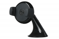 2E Car Mount Rotating Wireless Charger (5W, black)
