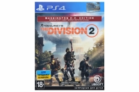 PlayStation Tom Clancy's The Division 2. Washington D.C. Edition [Blu-Ray диск]