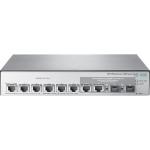 HPE 1850 Smart Switch, 6XGT + 2XGT/SFP+ Ports, L2, LT Warranty Switch