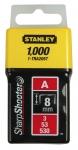 Stanley 1-TRA205T Скоби 8мм (1000шт.) (блістер)