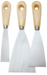 Topex 18B330 Набор шпателей малярніх 30 - 80 мм, 3 ед.