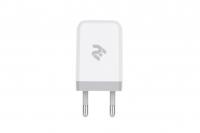 2E Мережевий ЗП USB Wall Charger USB [2E-WC1USB2.1A-W]