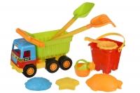 Same Toy Набір для гри з піском - Самоскид (9ьод.)