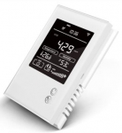 MCO Home Розумний сенсор 4в1: СО2, темп., вол., VOC., Z-Wave, 12V DC, білий