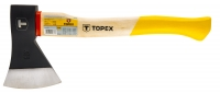 Topex 05A140 Сокира 1000 г, дерев'яна рукоятка