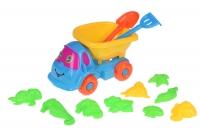Same Toy Набір для гри з піском блакитний/жовтий (11 од.)