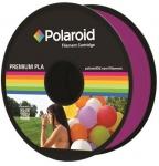 Polaroid Котушка з ниткою 1.75мм/1кг PLA, прозорий пурпурний