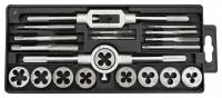 Topex 14A425 Плашки та мiтчики, M3 - M12, набiр 20 шт.*1 уп.