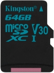 Kingston Canvas Go microSD [SDCG2/64GB]