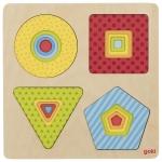 goki Пазл багатошаровий - Геометричні фігури