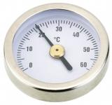 Danfoss Термометр FHD-T (0 +60C), діаметр 35мм, бі-металевий