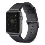 Belkin Ремешок Classic Leather Band для Apple Watch 38 мм [Чорний]