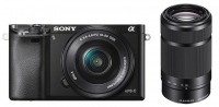Sony Alpha 6000 [Kit 16-50 + 55-210 Black]