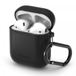 Spigen Чохол для AirPods Silicone [Black]