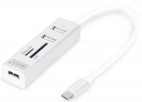Digitus Сетевой концентратор OTG USB 2.0 типа С