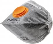 Neo Tools 97-311 Пылезащитная полумаска складная, с активированным углем FFP1, с клапаном, 3 шт