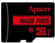 Apacer microSDXC/SDHC UHS-I U1 Class 10 [AP16GMCSH10U5-R]