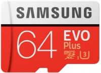 Samsung EVO Plus microSD C10 UHS-I [MB-MC64GA/RU]